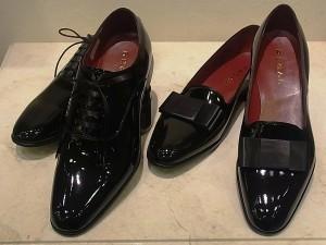 リーガルのタキシード靴