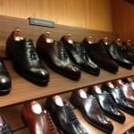 三陽山長のタキシードの靴