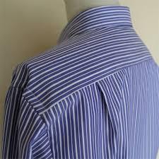 オーダーシャツのサイドプリーツ