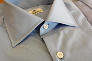 オーダータキシードに合わせるボレリのシャツ